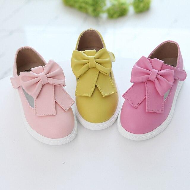 spring children's shoes for toddler girls princess little baby kids footwear platform female child casual shoes single size 4