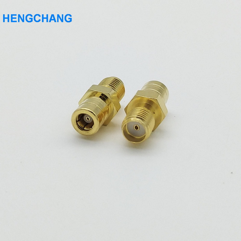 1PCS SMA to SMB adapter SMA Female Plug to SMB Female Goldplated RF Coax Connector Adapters Straight