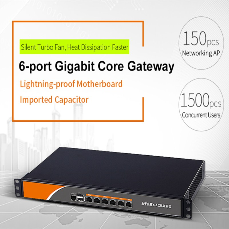 COMFAST Wifi AC Router Server Usb-Port Load-Balance Pppoe Gateway Networking Gigabit-Core