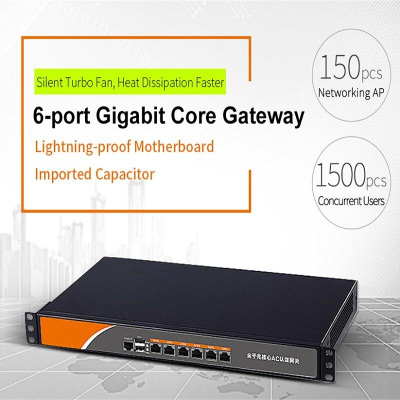 Routeur à ca de wifi de passerelle de noyau de Gigabit de 6 ports COMFAST chaud avec l'équilibre de charge serveur de QoS PPPoE 5 LAN/WAN 1 port usb pour la mise en réseau AP
