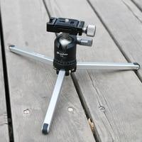 Ulanzi MT-01 Blat Podróży Mini Statyw z Głowicą Ball dla Canon Nikon Sony Kamera A7S Smartphone