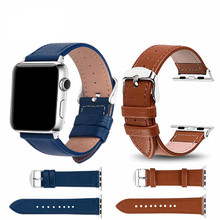 3 Color Hot Sell Leather Watchband for Apple Watch Band Series 3/2/1 Sport Bracelet 42  38 mm Strap For iwatch 4 eastar plastic protective case shockproof watchband for apple watch series 3 2 1 sport 42 mm 38 mm strap for iwatch band