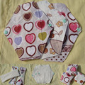 2pcs/Lot Velvet Panty Liner Cloth Menstrual Pad Mom Pad Breathable Reusable Washable Sanitary Napkin 185mm