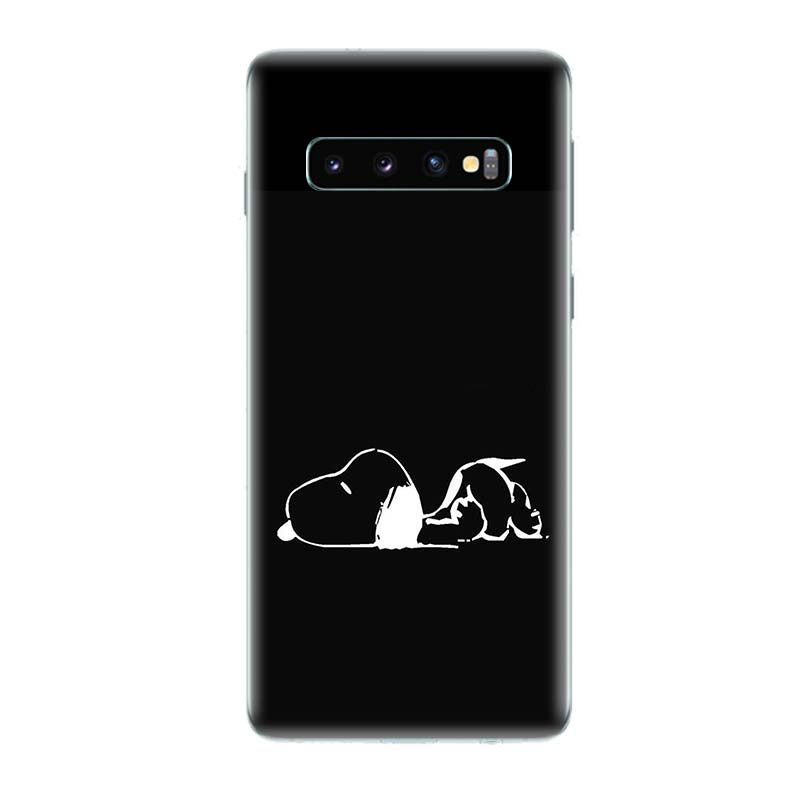 Snoopys And Woodstocks Popular Phone Case For Samsung Galaxy A50 A70 A30 A20 A10 A40 A80 A90 M10 M20 M30 Ary Customized Cover in Half wrapped Cases from Cellphones Telecommunications