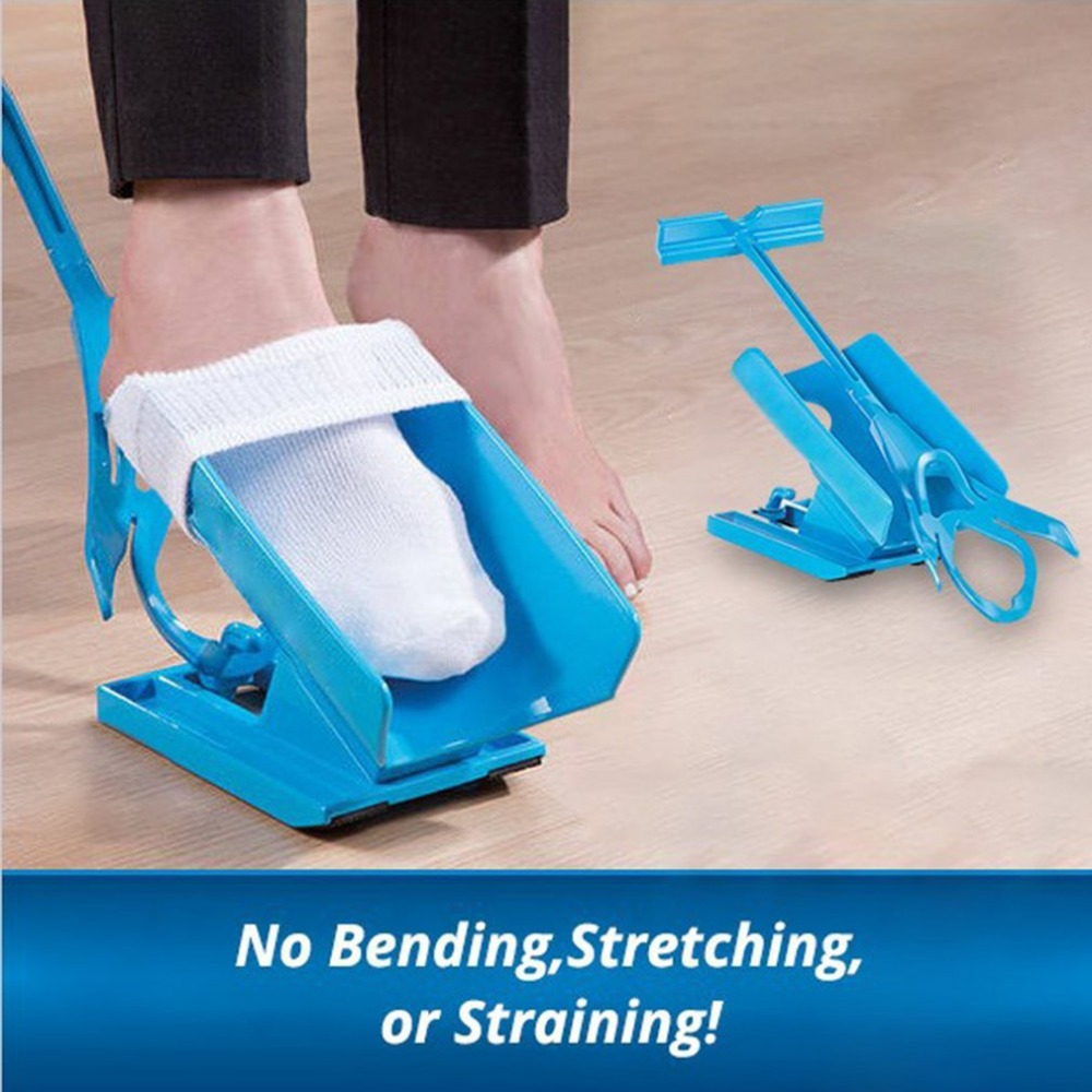 Sock Aid Kit Sock Helper Slider Fast &Easy Way To Put On Socks Easy On Easy Off Sock Helper Slider Drop shipping with retail box