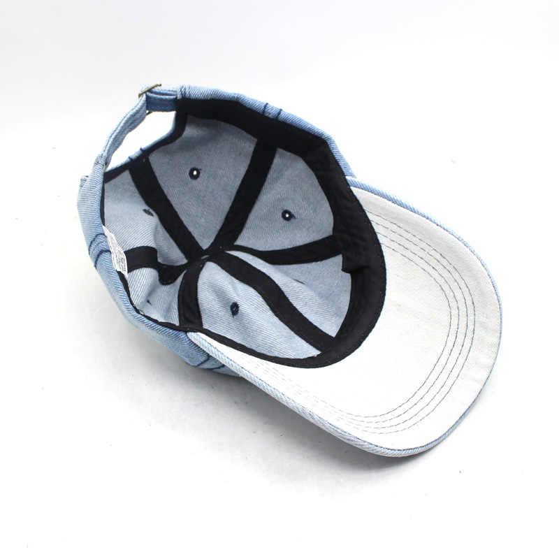 בייסבול כובע נשים אבא Snapback כובעי גברים מותג Homme כובעי גברים Falt עצם ג 'ינס ג' ינס ריק Gorras Casquette רגיל אבא כובע כובע