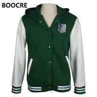 Unisex Anime Attack On Titan Hoodies Jacket Sweatshirt Shingeki No Kyojin Aren Wing Jacket Hoodies Coat