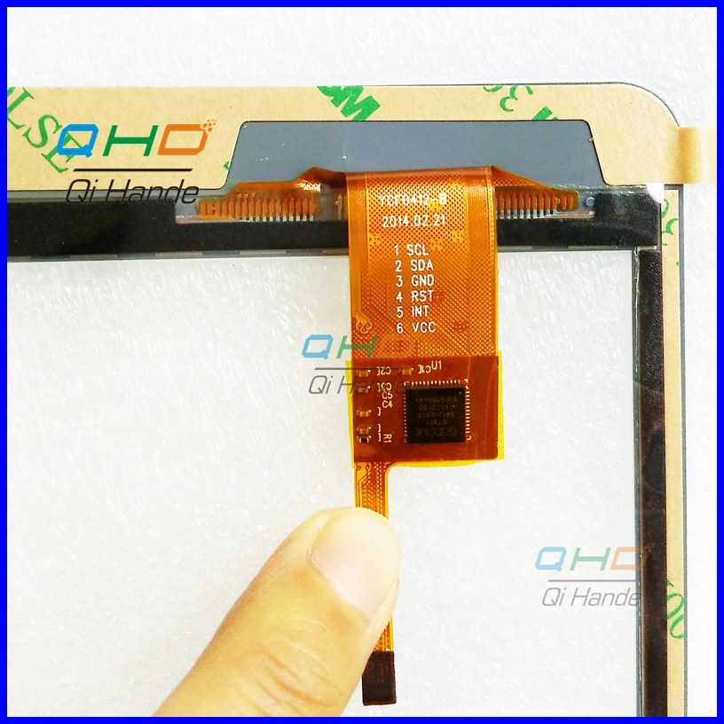 New 7.85 Inch YCF0412-B Tablet Computer Handwriting Touch Screen Capacitance Panel Digitizer Glass Sensor Replacement Parts