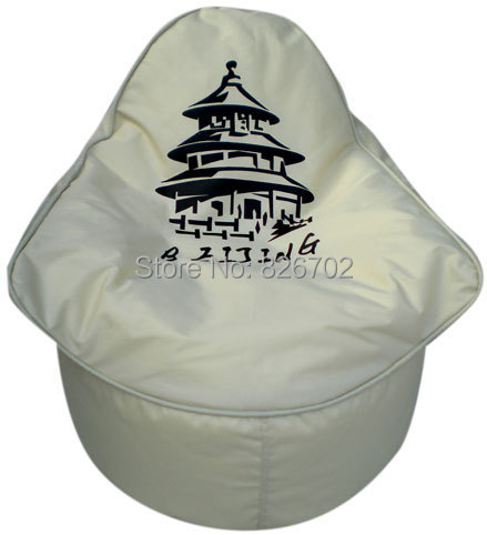 Free Shoping Retro Eiffel Tower Removable And Bean Bag Chair Cover Computer Shipping In Living Room Chairs From