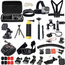 FeoconT Sports camera accessories set for go pro hero 5 4 3 kit mount for SJCAM SJ4000 / xiaomi yi camera