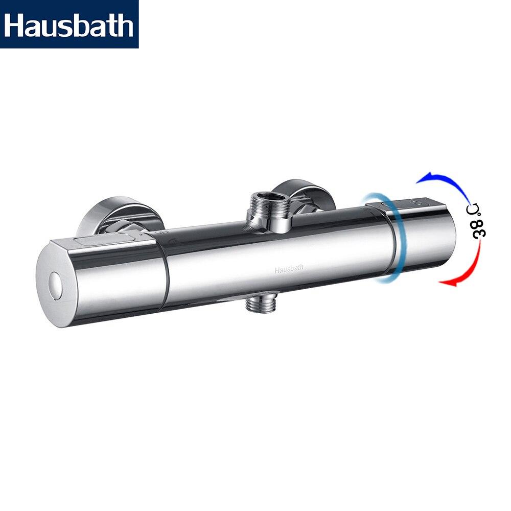 Термостатический Смеситель Для Душа Современный Дизайн Безопасное Использование Керамический Клапан Температурный Контроль