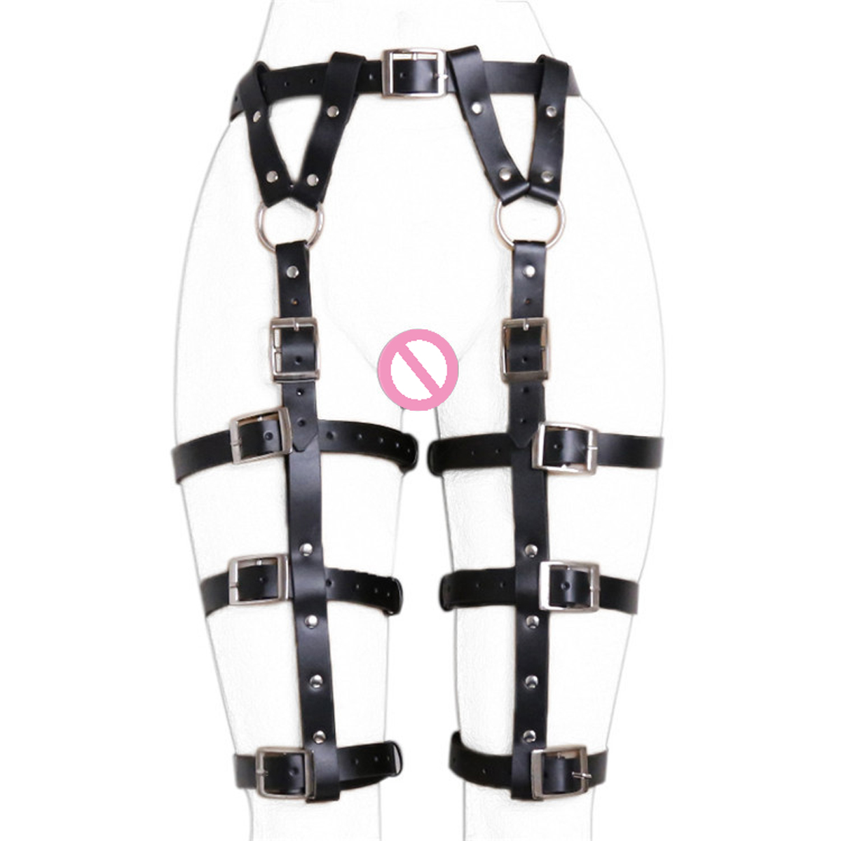 Faux Leather Chastity Belt Underwear Bdsm Restraint Bondage Pants Thong Fetish Sex Toy Adult Sexy Female Flirt Game For Women in Adult Games from Beauty Health