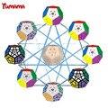 Tumama Colorido cubo Mágico Speed Puzzle 2x2 Megaminx Velocidad Cubo Dodecaedro Rompecabezas Juguetes Educativos Juguetes de Niños para niños