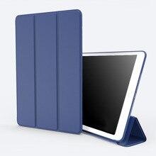 Caso para el ipad mini 1 2 3 4 ipad 2 3 4 5 6 Aire iPad air2 Cubierta, diseño original de cuero de LA PU + de Silicona carcasa trasera Inteligente