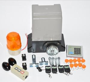 Image 3 - Ouvre porte coulissant automatique 370W, kit dexploitation pour porte 800kgs avec support à engrenage en nylon de 5m ou 4m, pour maison, villa