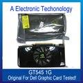 Original Genuína de 1 GB 1024 MB Placa Gráfica Para DELL GT545 Exibição Placa de Vídeo GPU NVIDIA Substituição Testado Trabalho