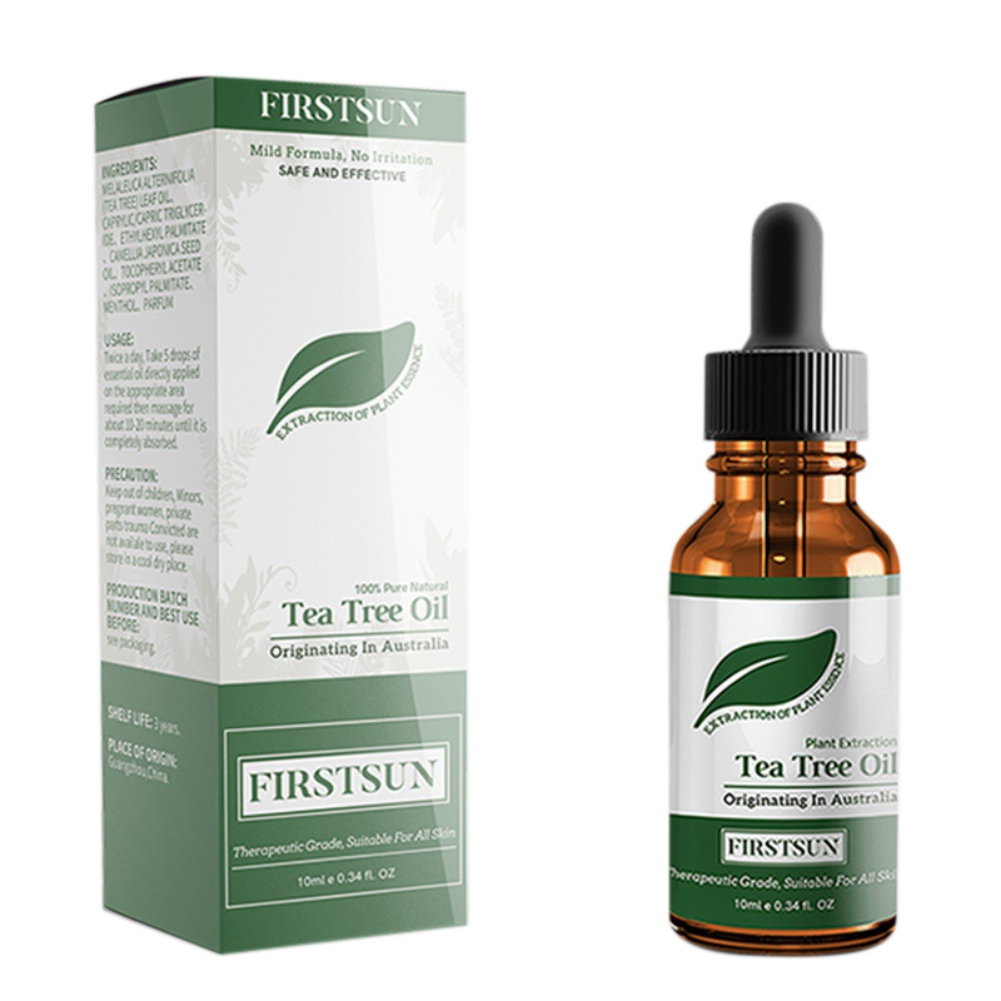 10ml Tea Tree Essential Oils Face Care Plant Hydrating Oil-control Contractive Pore Facial-beauty Oil Acne Treatment image