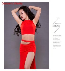 Image 5 - NEW Children Belly Dance Costumes Children Hot Sale Dance Show Clothing Summer Modal Split Skirt Set Free Delivery