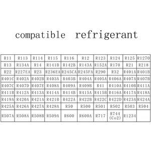 Image 4 - DY517 Refrigeration Pressure Gauge Digital Vacuum Pressure Manifold Tester Meter HVAC Temperature Tester