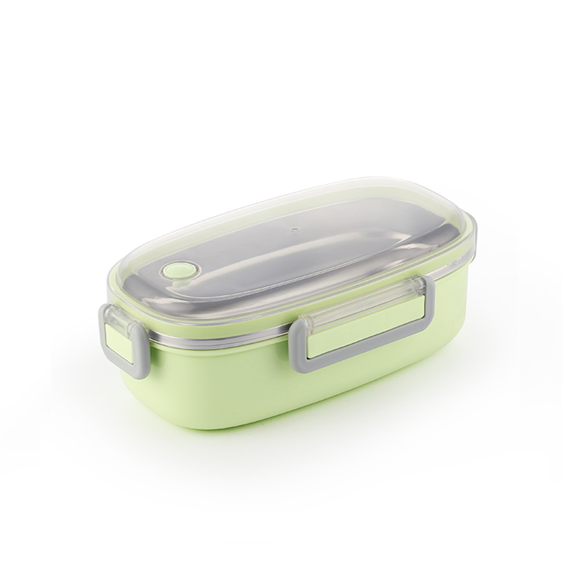 TUUTH Cute Lunch Box Stainless Steel Dinnerware Food Storage Container Children Kids School Office Portable Bento Box B4