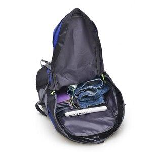 Image 5 - Darmowy rycerz 50L plecak wodoodporny do wędrówek Trekking plecak podróżny dla mężczyzn kobiety torba sportowa terenowa torba wspinaczkowa 5 kolorów