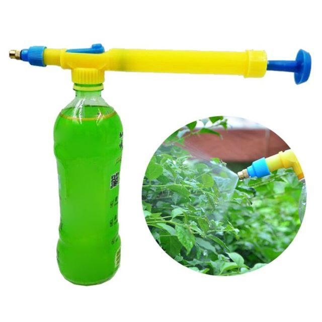 Pneumatic sprinkler hand head pressure pesticide sprayer irrigation head garden house essential tools horticultural supplies