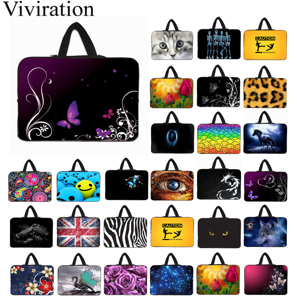 Portable Laptop Bags 14 Inch 14.1 14.4 Notebook Neoprene Thin Business Briefcase For IBM HP Lenovo Chromebook Fashion Case Bag