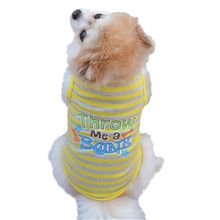 Pet Dog Shirt Striped Clothes