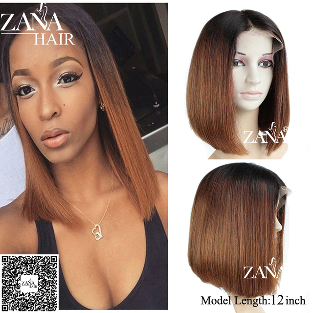 7A Thick Glueless Full Lace Human Hair Wigs Brazilian Virgin Short Bob Wigs Straight Human Hair Lace Front Wigs for Black Women
