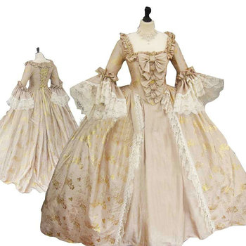 sc-1240 Victorian Gothic/Civil War Southern Belle loose Ball Gown Dress Halloween Vintage  dresses Custom made