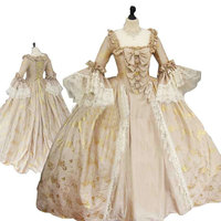 sc 1240 Victorian Gothic/Civil War Southern Belle loose Ball Gown Dress Halloween Vintage dresses Custom made