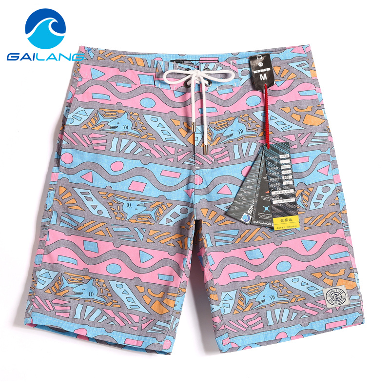Gailang Brand Male Beach Shorts Boardshorts Casual Men Shorts Bermuda Quick Drying Active Wear Man Short Bottoms Swimwear