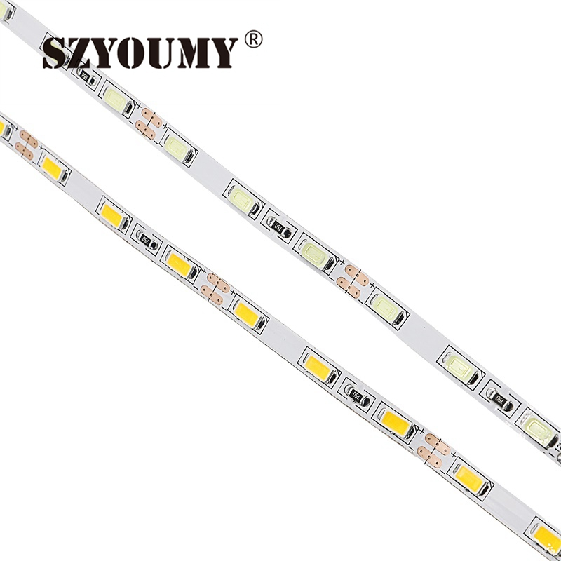 szyoumy 30m new 2017 ultra bright smd 5630 led strip 60leds  m dc12v non waterproof flexible led