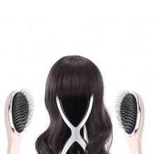 Wig Hair Brush Anti-Static For Mannequin Head 1Pc Steel Tooth Plastic Wood Comb