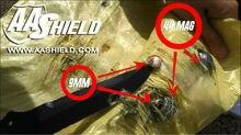 AA Shield Bullet Proof Soft Panel Body Armor Inserts Plate Aramid Core Self Defense Supply NIJ Lvl IIIA 3A 10×12#2