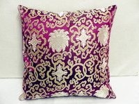Free Shipping 2piece Pack High Quality Double Sided 100 Silk Fabric 18 Pillow Covers