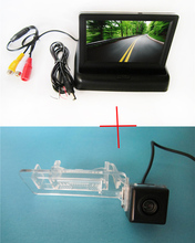 wire wwaterprof parking CCD Car Rear View Camera for Mercedes-Benz SMART R300 R350  with 4.3 Inch foldable LCD TFT Monitor