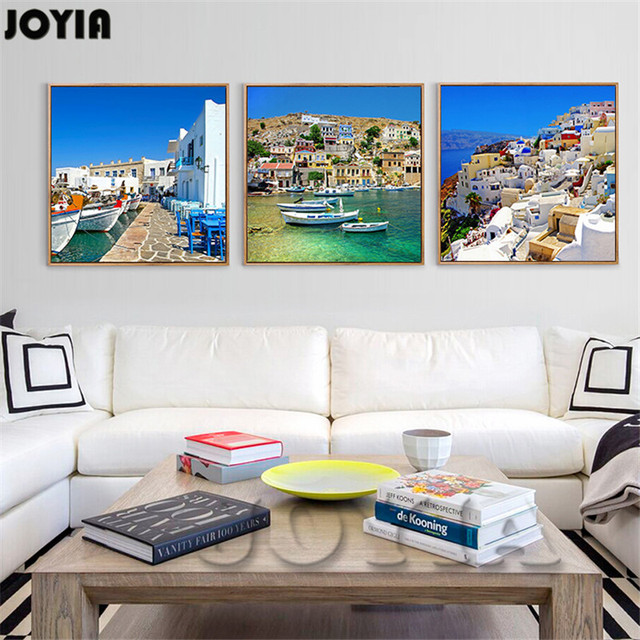 Buy canvas painting wall art for living for Decor island