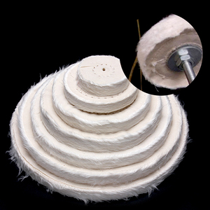 "Image 5 - 2"" 12"" Wheels Buffing Polishing Wheel Cotton Lint Cloth Buffing Wheel Gold Silver Jewelry Mirror Polishing Wheel"