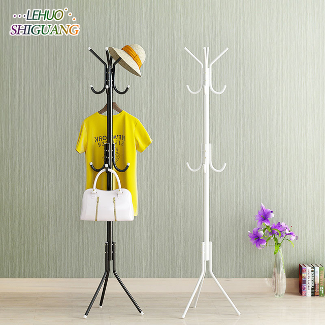 DIY Assembly Coat Rack Mm Stainless Steel Assembly Can Be - Bedroom furniture for hanging clothes