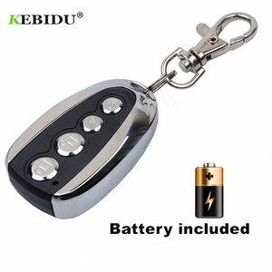 Image 3 - KEBIDU 433Mhz Rolling Code Remote Duplicator Garage Door Remote Control Opener Electric Face to Face Car Gate Transmitter