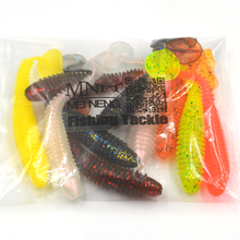 MNFT Mixed 10PCS *Floating Soft Lure 7cm 3g Fishing Grub Worm Swim Bait Artificial Lures Saltwater Fishing Tackle