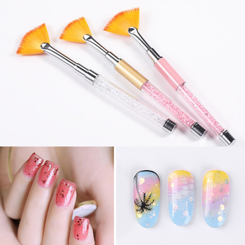 Nail Art Line Painting Pen 3D Tips Acrylic UV Gel Brushes Drawing Crystal Liner Glitter French Design Manicure Tool image