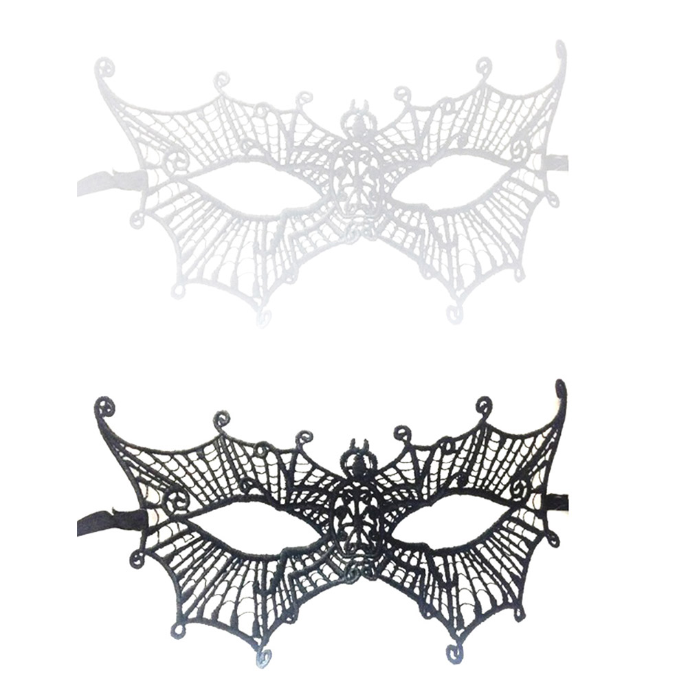 Natural & Alternative Remedies 1 Pcs Party Lace Masks Women Sexy Halloween Masquerade Party Spider Shape Half Face Lady Eye Masks Year-End Bargain Sale Jewelry & Watches
