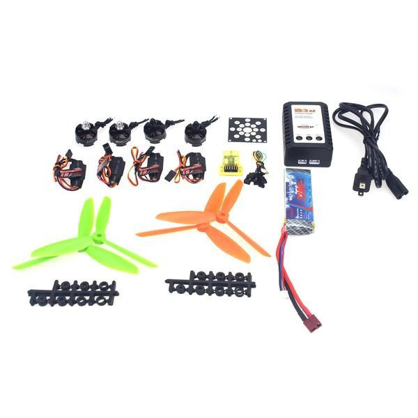 JMT RC Helicopter Kit KV2300 Brushless Motor + 12A ESC + Straight Pin Flight Control + FC6x4.5 Propeller for 250 Helicopter electronic components set kv2300 brushless motor 12a esc straight pin flight control open source for 250 helicopter f12065 b
