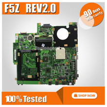 Original laptop board For Asus F5Z motherboard X50Z system mainboard REV2.0 NPZMB1000-B07 fully tested good