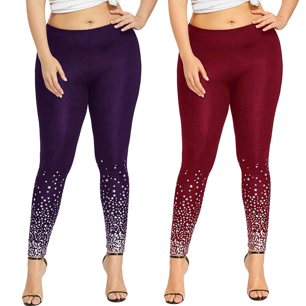 Hxroolrp Pants Women Plus Size   Leggings   Running Gym Sports High Waist Pants Trousers   Legging   Femme Clothing Casual 10