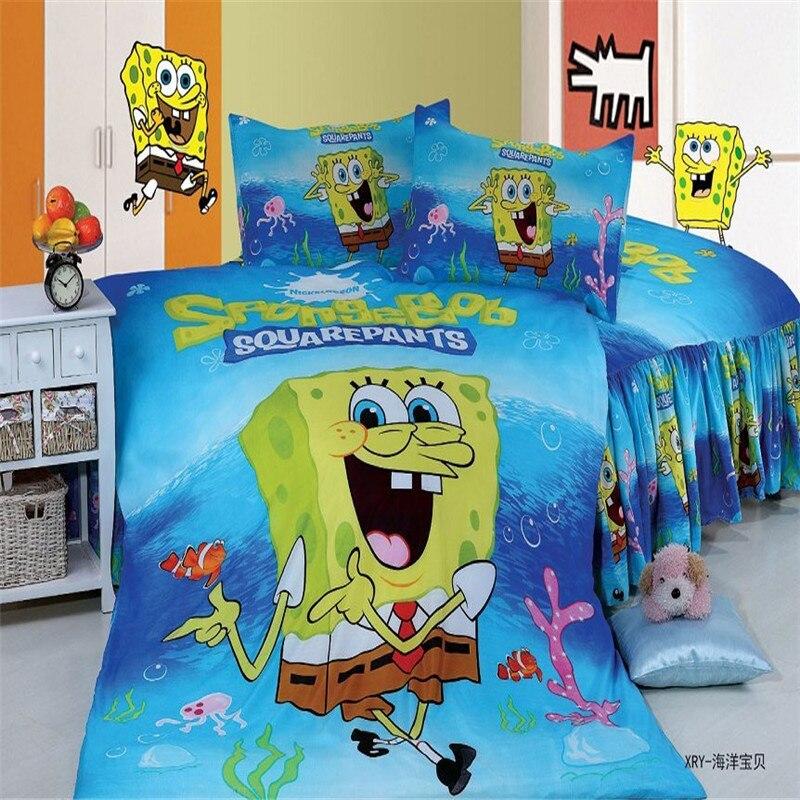 SpongeBob Duvet//Doona//Quilt Cover Set or Sheet Set Single//Double//Queen Bed