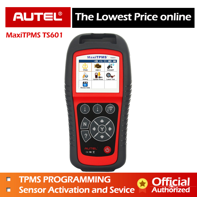 AUTEL MaxiTPMS TS601 TPMS outil voiture Diagnostic OBD2 Scanner Service automobile activer capteur de pneu TPMS programmation lecteur de Code