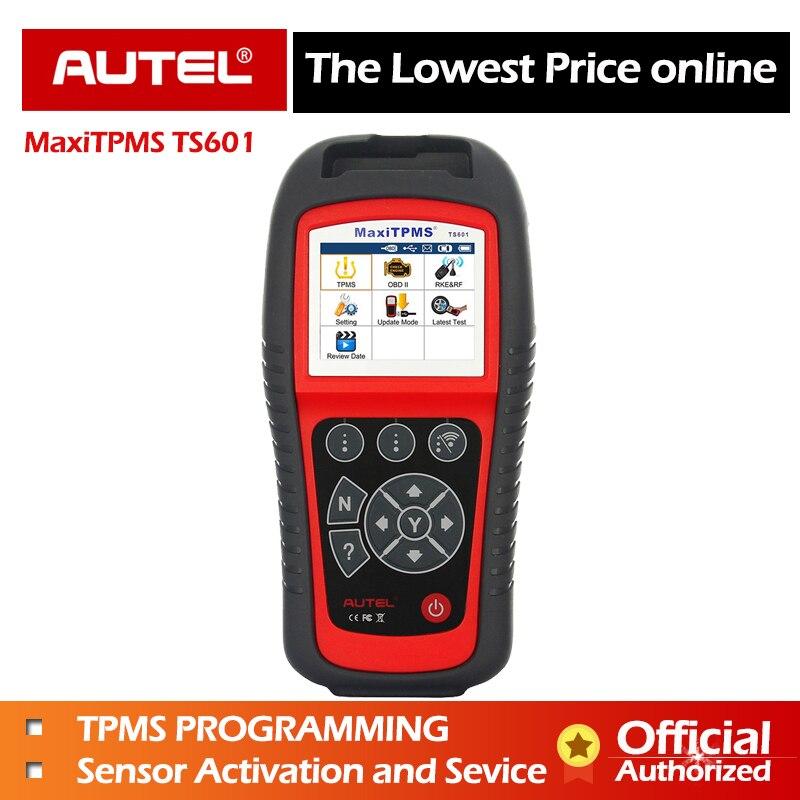 MaxiTPMS AUTEL TPMS TS601 Serviço Ativar OBD2 Scanner Automotivo ferramenta de Diagnóstico Do Carro Leitor de Código de programação TPMS Sensor De Pneu